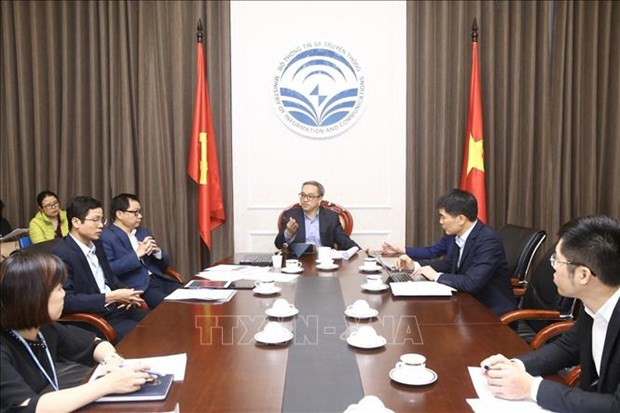 越南将首次主办2020年数码世界会议及展览会 hinh anh 1