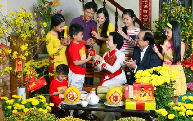派压岁钱——越南人春节传统习俗 hinh anh 1