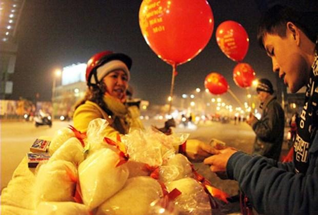 春节初一买盐——越南人过年的习俗 hinh anh 1