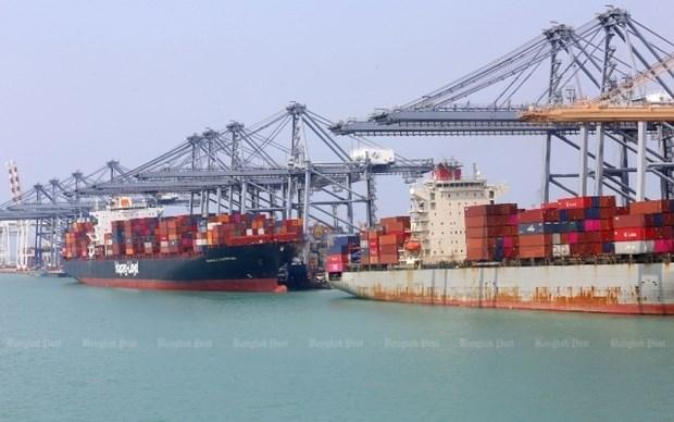 今年4月份泰国出口额增长2.1% hinh anh 1
