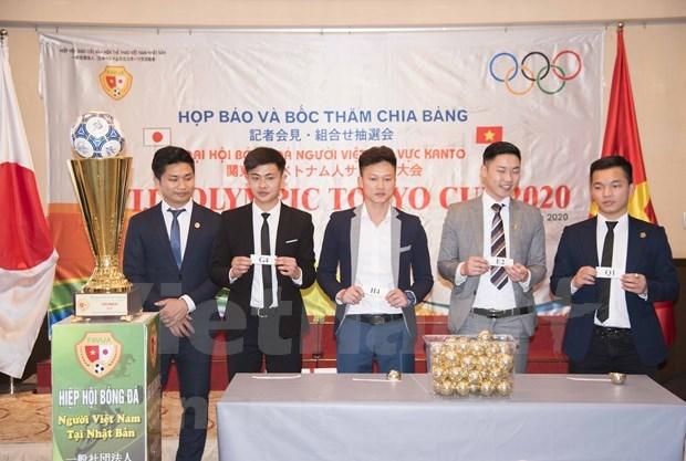 64支足球队参加2020年东京杯旅居日本越南人足球大会 hinh anh 1
