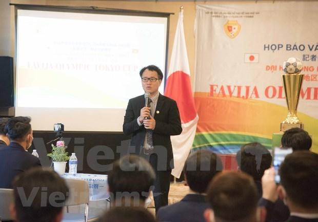 64支足球队参加2020年东京杯旅居日本越南人足球大会 hinh anh 3