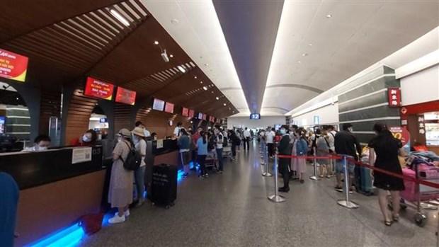 新冠肺炎疫情: 将在台湾的230名越南公民接回国 hinh anh 1