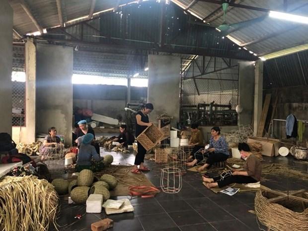 组图:越南企业在新冠肺炎疫情的背景下加大生产力度 hinh anh 6