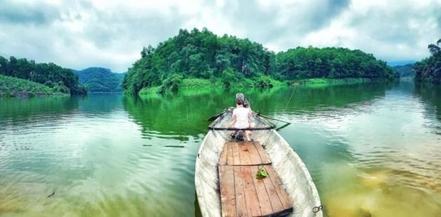 组图:在富寿省的云会泻湖游玩 hinh anh 12