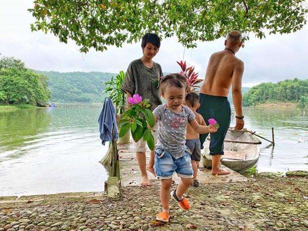 组图:在富寿省的云会泻湖游玩 hinh anh 15