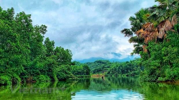 组图:在富寿省的云会泻湖游玩 hinh anh 2