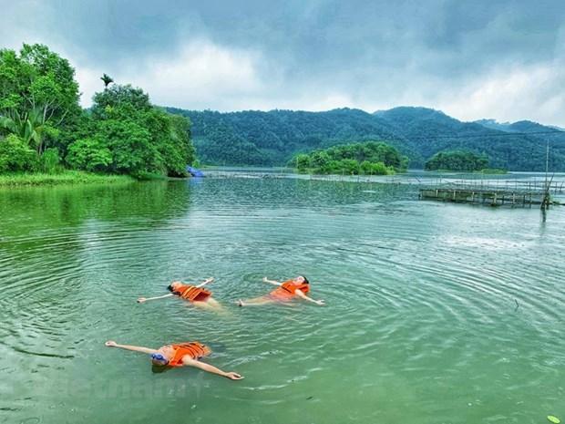 组图:在富寿省的云会泻湖游玩 hinh anh 7