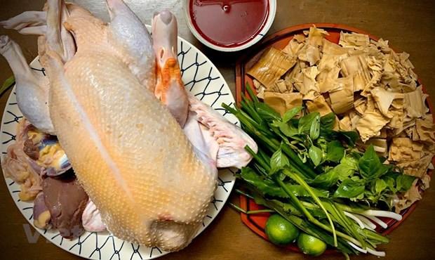 组图:越南的鹅肉米粉 hinh anh 1