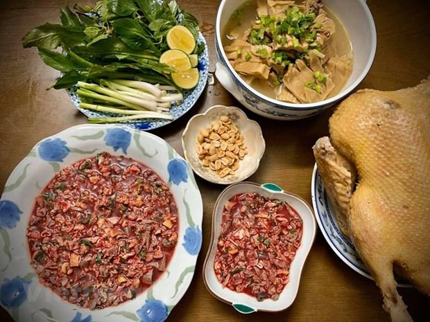 组图:越南的鹅肉米粉 hinh anh 2