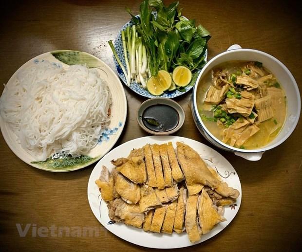组图:越南的鹅肉米粉 hinh anh 3