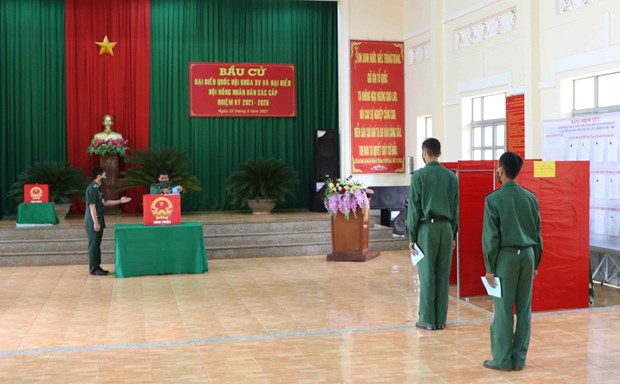 国会和人民议会换届选举:竞选活动通过安全且灵活的方式依法进行 hinh anh 2