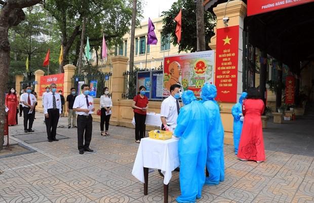 国会和人民议会换届选举:竞选活动通过安全且灵活的方式依法进行 hinh anh 3