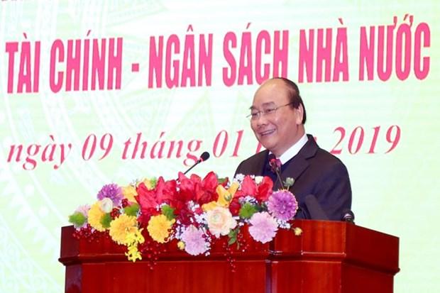 阮春福总理:2018年越南财政收入超出既定目标 hinh anh 1