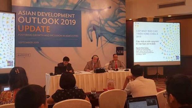 亚洲开发银行预测2019年越南经济增长率达6.8% hinh anh 1