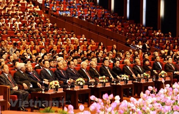组图:胡志明主席诞辰130周年庆典在河内隆重举行 hinh anh 10