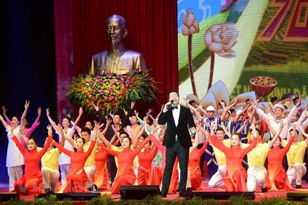 组图:胡志明主席诞辰130周年庆典在河内隆重举行 hinh anh 13