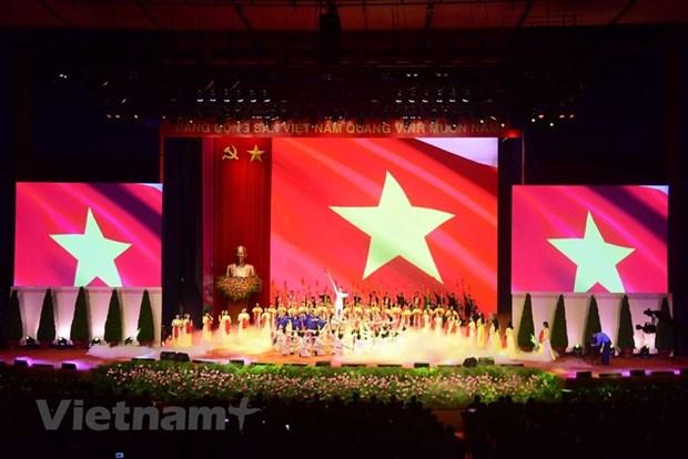 组图:胡志明主席诞辰130周年庆典在河内隆重举行 hinh anh 14