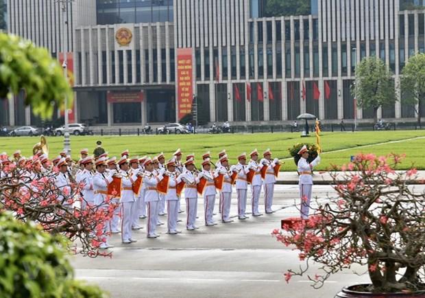 组图:胡志明主席诞辰130周年庆典在河内隆重举行 hinh anh 2
