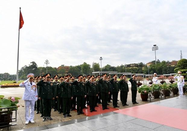 组图:胡志明主席诞辰130周年庆典在河内隆重举行 hinh anh 5