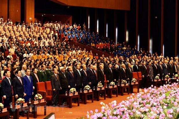 组图:胡志明主席诞辰130周年庆典在河内隆重举行 hinh anh 8
