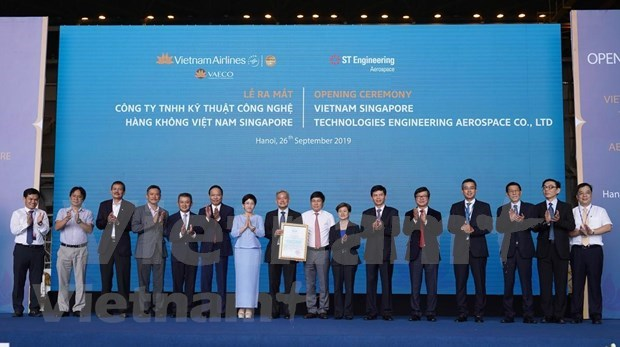 越南与新加坡合作开展飞机保养维修活动 hinh anh 2