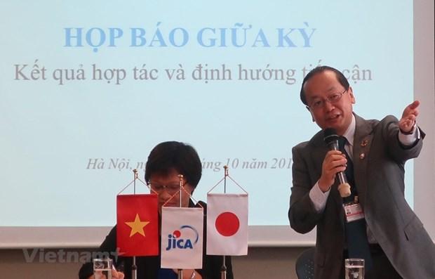 JICA承诺为越南开展各项长期战略计划提供协助 hinh anh 1