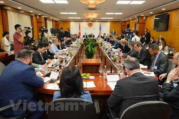 越南与美国加强贸易往来和投资合作 hinh anh 1