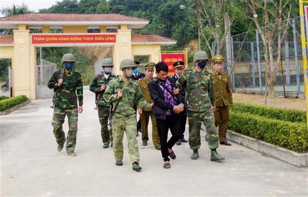 河静省逮捕从老挝非法运输毒品入境越南的一名男嫌犯 hinh anh 1