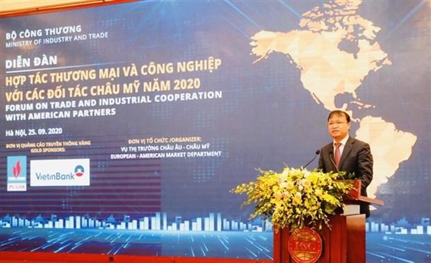 越南与美洲伙伴的贸易合作潜力巨大 hinh anh 1