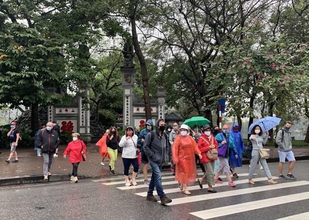 2020年10月越南接待国际游客量环比增长7.6% hinh anh 1