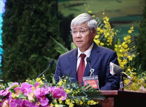 """""""加快少数民族地区社会经济发展和多维减贫项目""""签署仪式在河内举行 hinh anh 1"""
