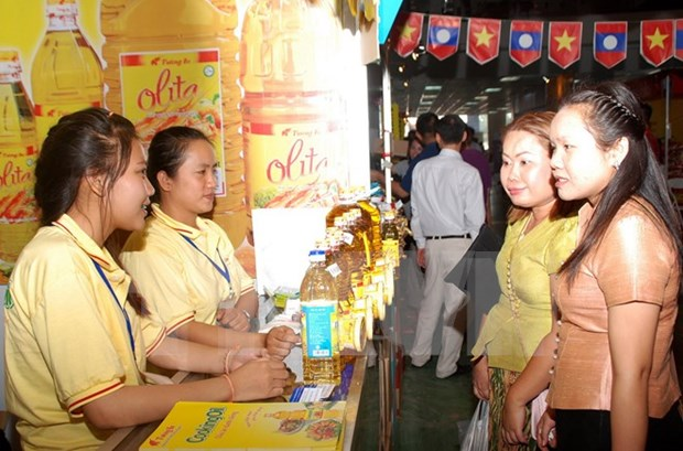 越南岘港市与老挝各省加强合作 hinh anh 1