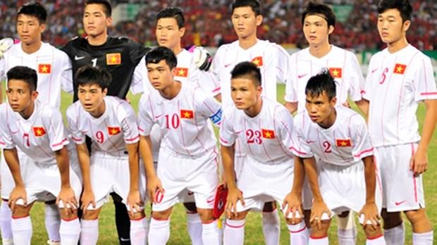 越南U19队集军为2015年东南亚U19足球锦标赛做好准备 hinh anh 1