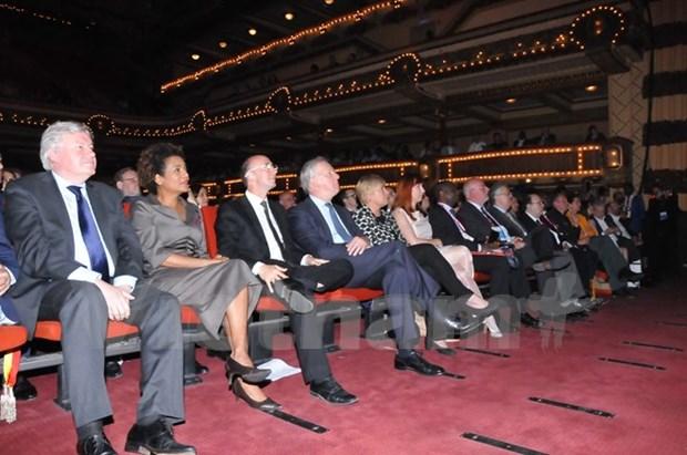 越南参加在比利时举行的第二届世界法语论坛 hinh anh 1