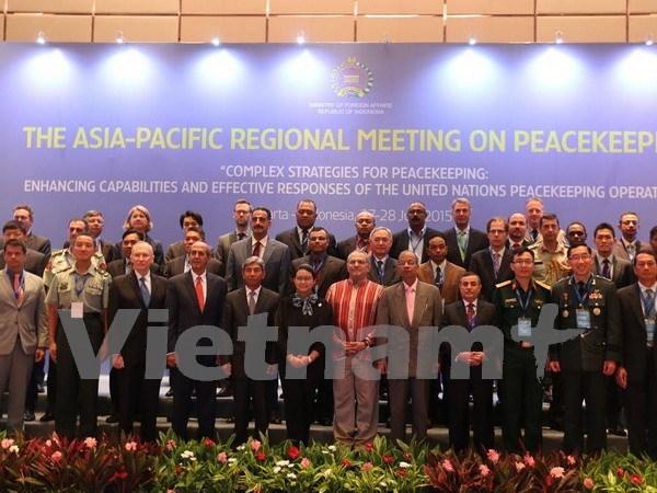 联合国维和行动亚太地区会议在雅加达开幕 hinh anh 1