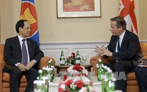 英国承诺进一步深化与东盟之间的经济关系 hinh anh 1