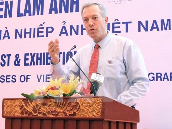 美国驻越大使奥修斯强调了越美两国人民关系的重要性 hinh anh 1