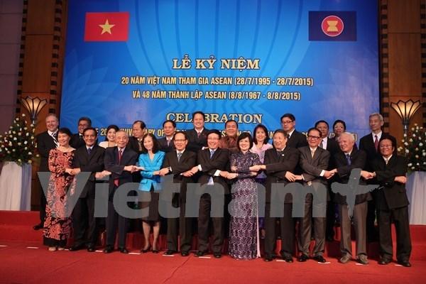 越南加入东盟20周年纪念活动在河内举行 hinh anh 1