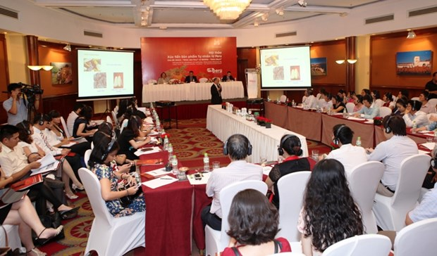 秘鲁在越南推介该国著名的纯天然食品——玛卡和藜麦 hinh anh 1