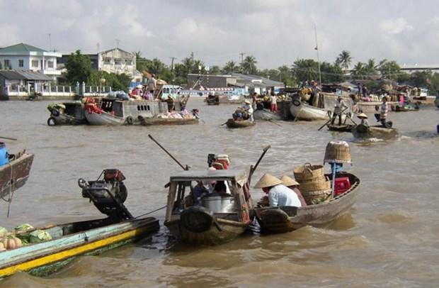 芹苴市被列为世界拥有最美沟渠的十大城市 hinh anh 1