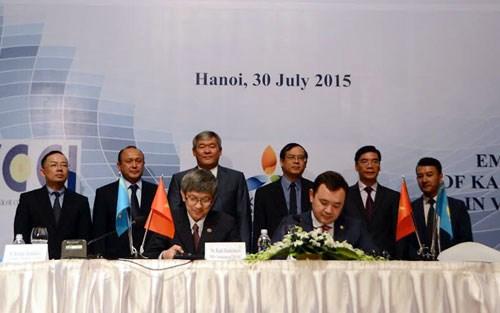 越南与哈萨克斯坦加强经贸领域的合作 hinh anh 1