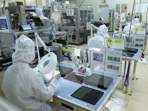 今年前7个月越南工业总产值同比增长9.9% hinh anh 1