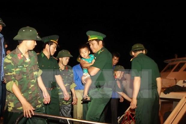 广宁省特大暴雨死亡失踪人数上升至24人 救灾工作仍在紧张进行中 hinh anh 1