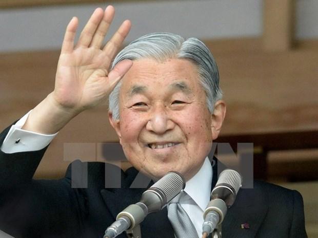 日本天皇明仁对越日关系蓬勃发展表示高兴 hinh anh 1