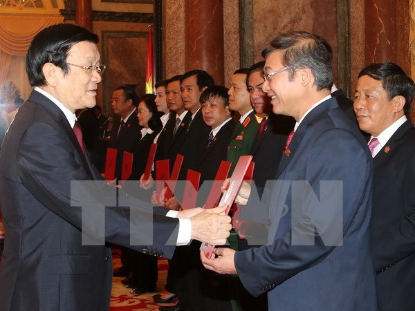 张晋创主席:法官需依法办案 真正成为公平正义的维护者 hinh anh 1