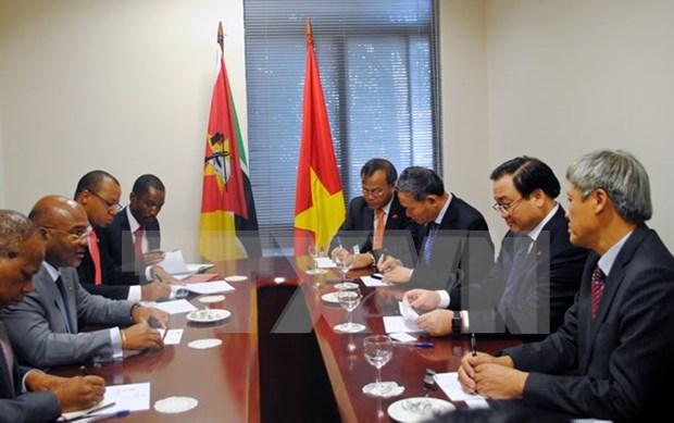 黄忠海副总理一行圆满结束对莫桑比克进行的访问 hinh anh 1