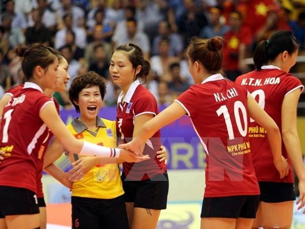2015越南国际女排锦标赛落幕:泰国U23队夺冠 hinh anh 1
