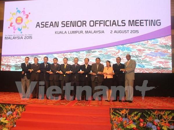 面向建成东盟共同体:东盟高官会议在吉隆坡召开 hinh anh 1