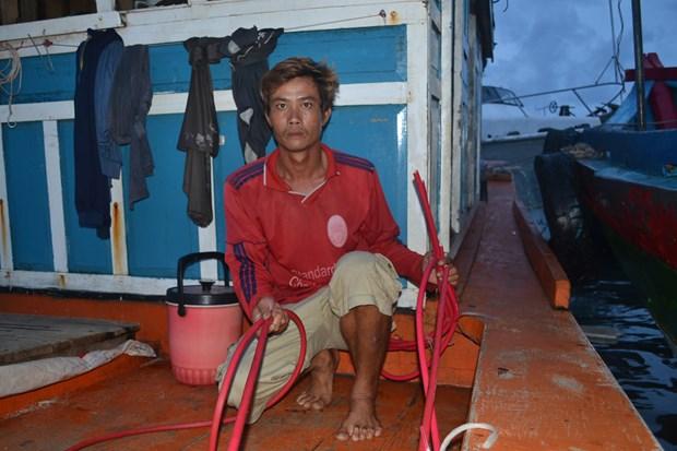 越南渔业工会:强烈反对中国船只殴打越南渔民和劫掠越南渔船财产的行为 hinh anh 1